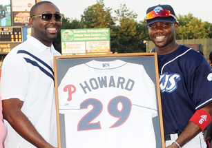 Ryan Howard and Corey Howard
